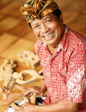 Hand-carved sculptures from Indonesia - Wayan Mustika