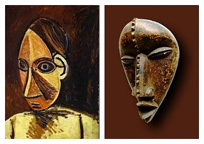 Picasso and African Mask