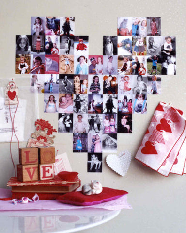Love photo tile