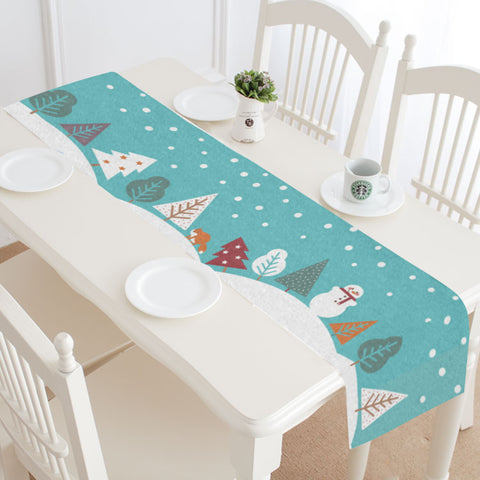 Snowy Hills Table Runner