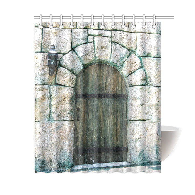 Medieval Arch Shower Curtain