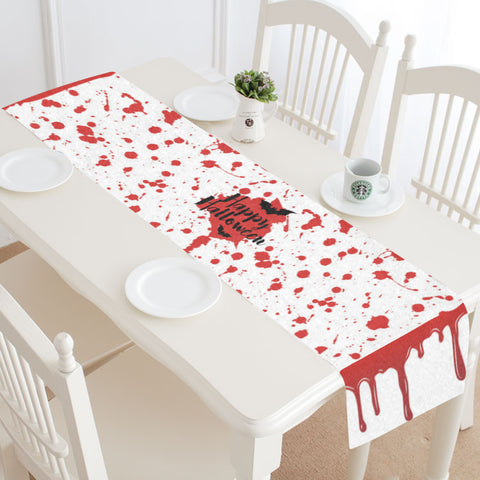 Bloody Halloween Table Runner