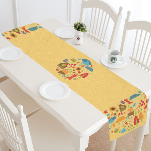 Joys of Fall Table Runner