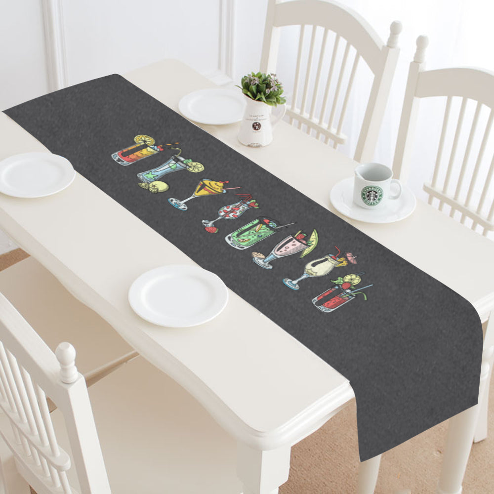 Cocktails Table Runner
