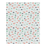 Flamingos Parade Duvet Cover Set
