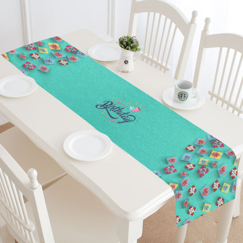 Happy Birthday II Table Runner