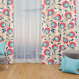 Amaryllis Window Curtains