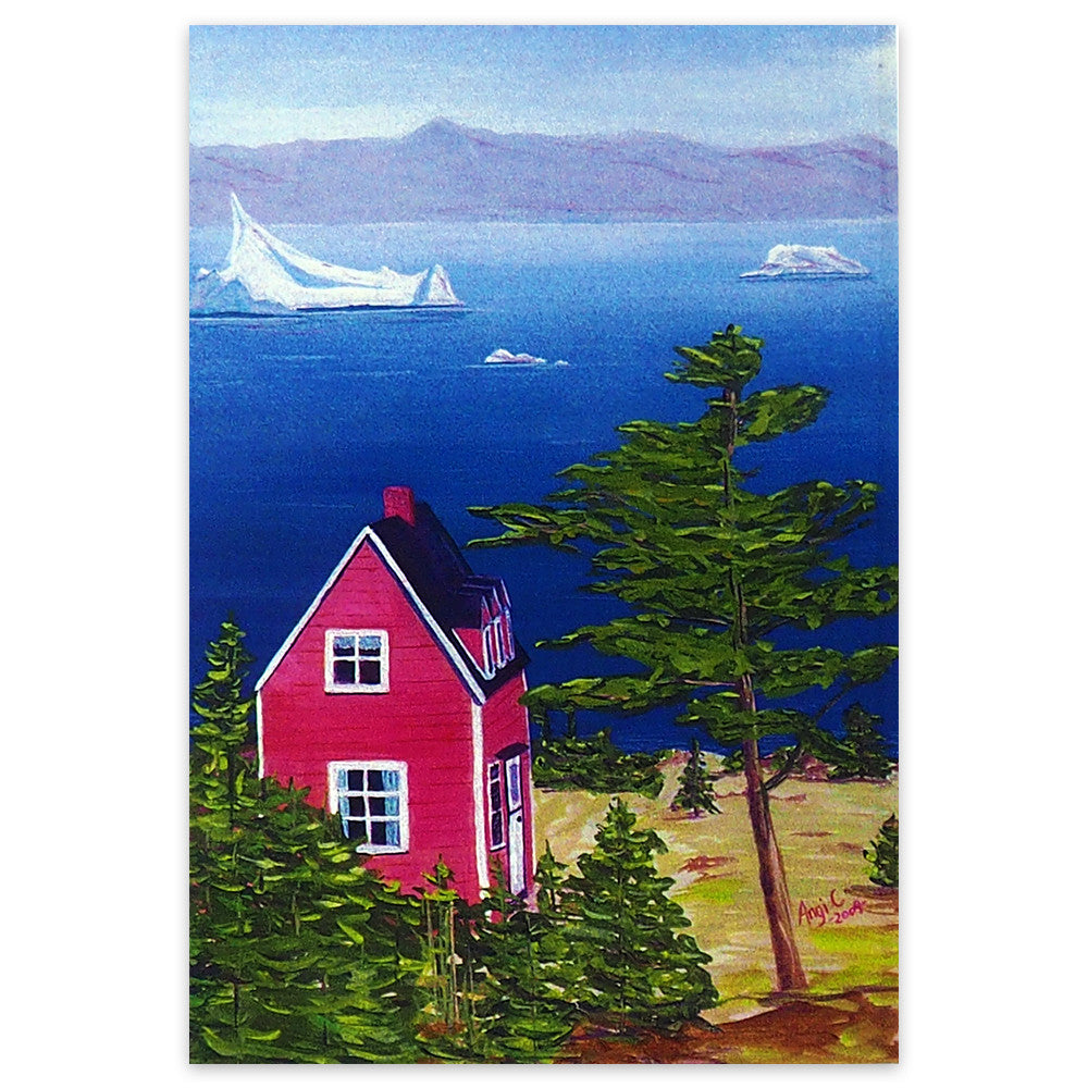 'An Iceberg on the Bay' Art Print