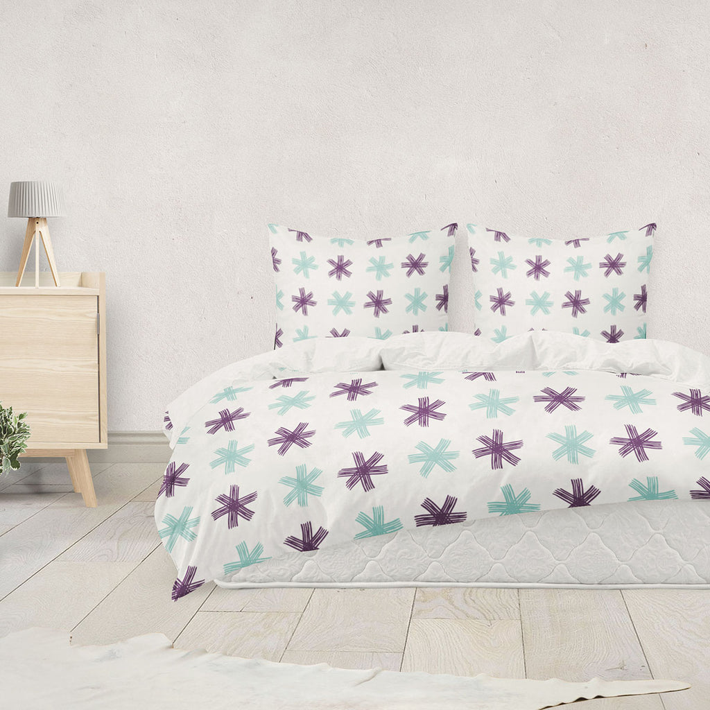 Ancolie Duvet Cover Set