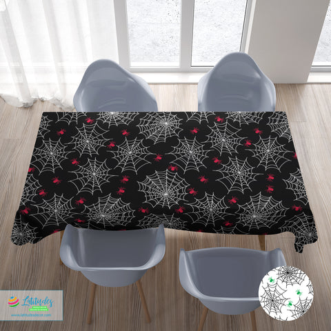 Arachnophobia Tablecloth (2 colors)