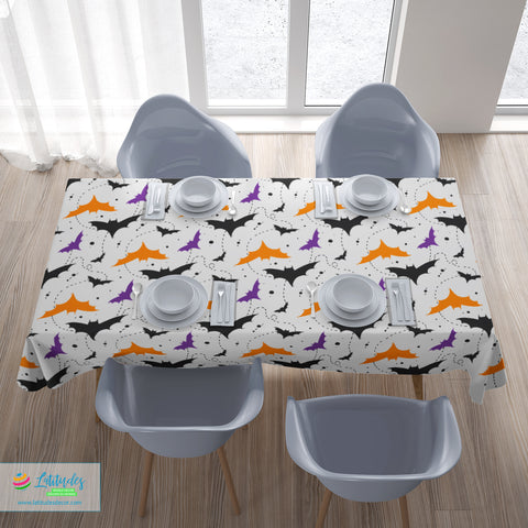 Bat Invasion Tablecloth