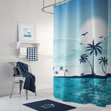 Beach Blues Shower Curtain
