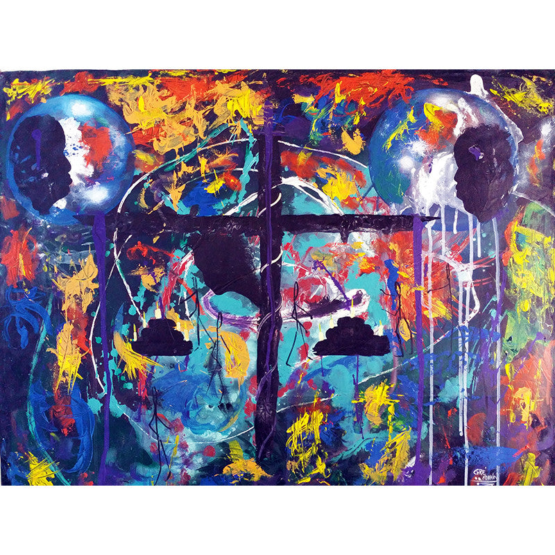 Bebi - Haitian painting | Latitudes World Décor