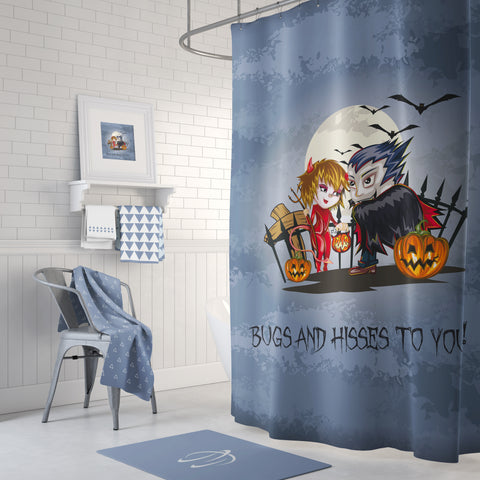 Bugs & Hisses Shower Curtain