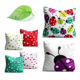 Coccinelle IV Throw Pillow Cover