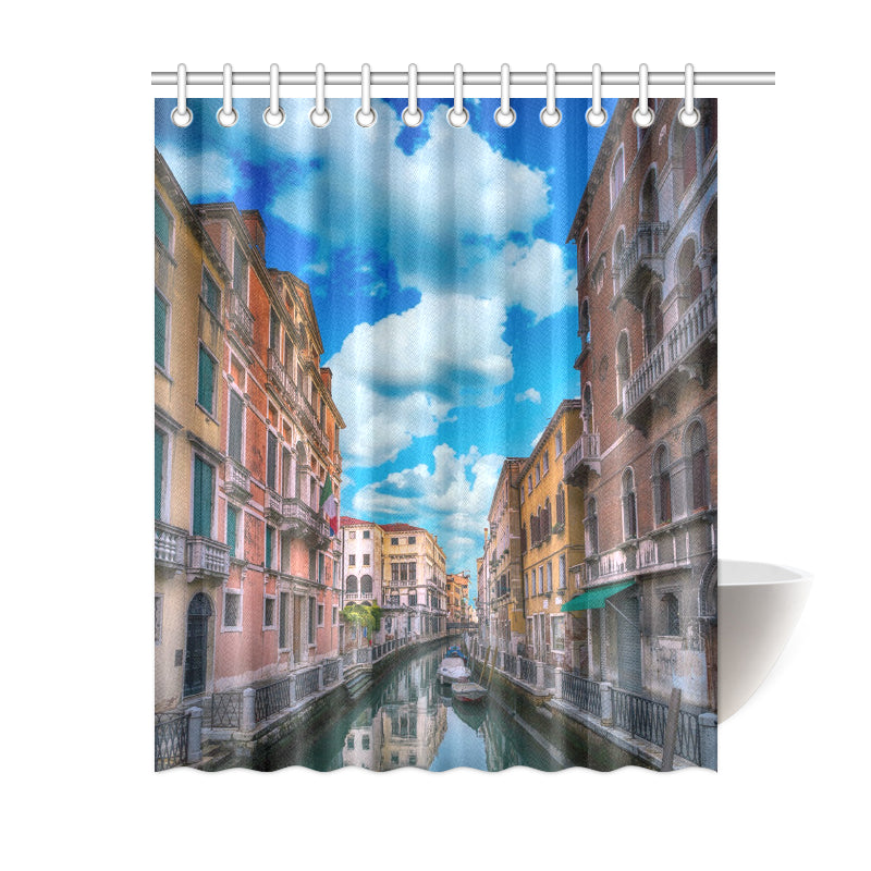 Venetian Way Shower Curtain
