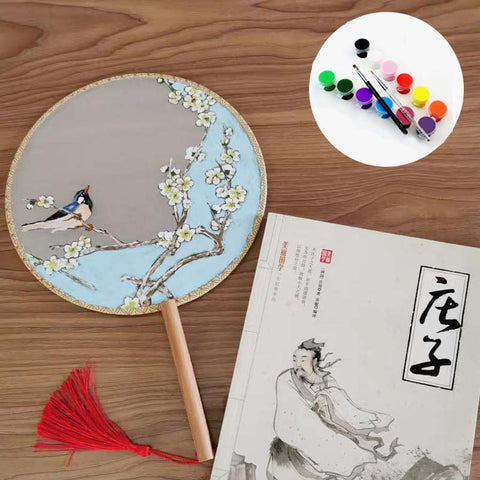 Creative Art DIY Chinese Palace Fans
