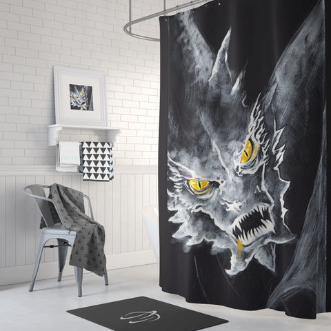 Dragon's Head Shower Curtain