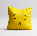 Emoji 'Kiss' Cushion Cover