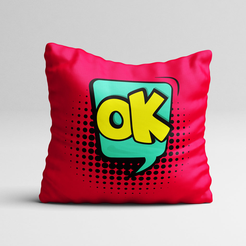 Express it-OK Throw Pillow Cover