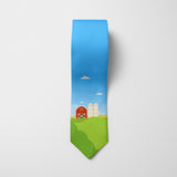 The Farmer Printed Tie