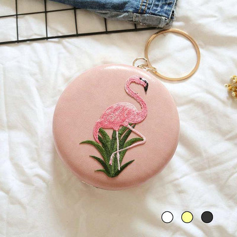 Sac à Main Flamingo Satin