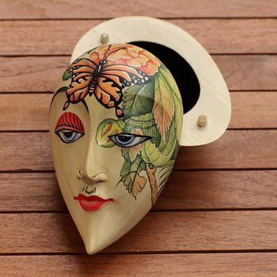 Hidden Box 'Floral Visage' | Latitudes World Décor