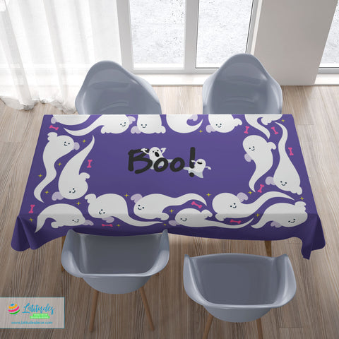 Halloween Boo! Tablecloth