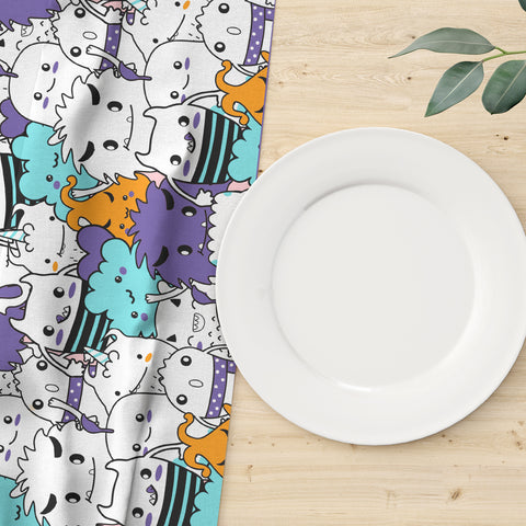 Halloween Monsters II Table Runner
