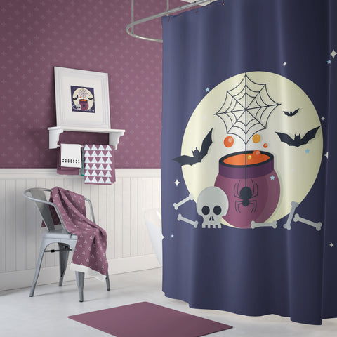 Moon Potion Shower Curtain