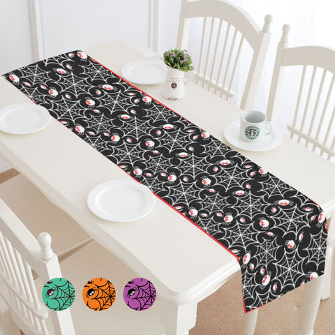 Halloween Spider Webs Table Runner (4 colors)