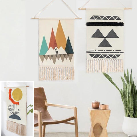 Handwoven Modern Wall Art Tapestries