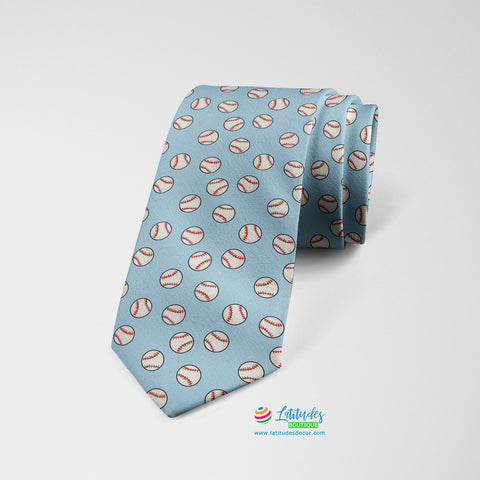 Home Run Printed Tie