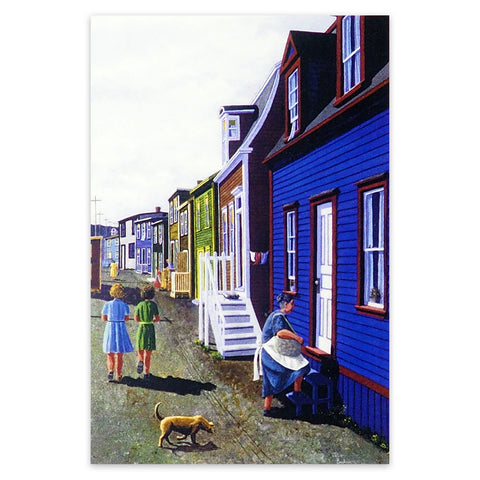 Just Another Day in Newfoundland Art Print