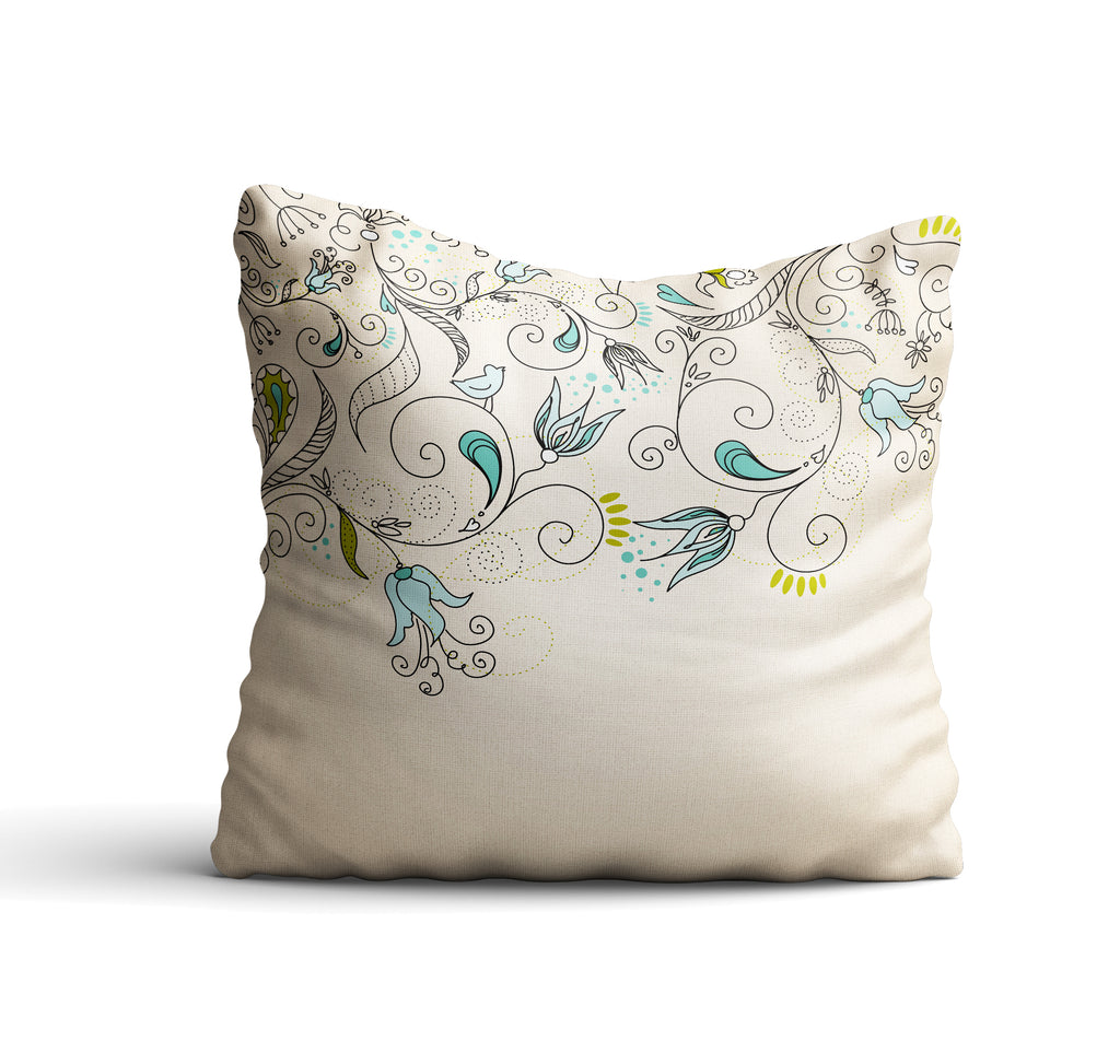 Kolokani II Throw Pillow Cover