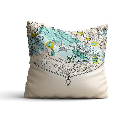 Kolokani III Throw Pillow Cover