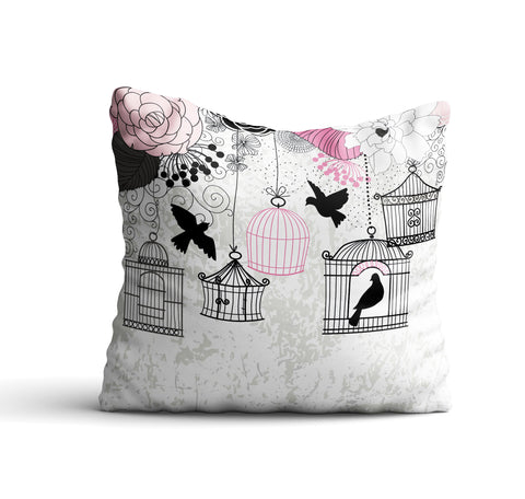 Koulikoro III Throw Pillow Cover