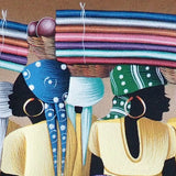 'Madanm Sara' Haitian painting | Latitudes World Décor