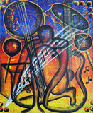 Musical Combo Original Painting