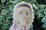 Japanese Noh Boxwood Mask K
