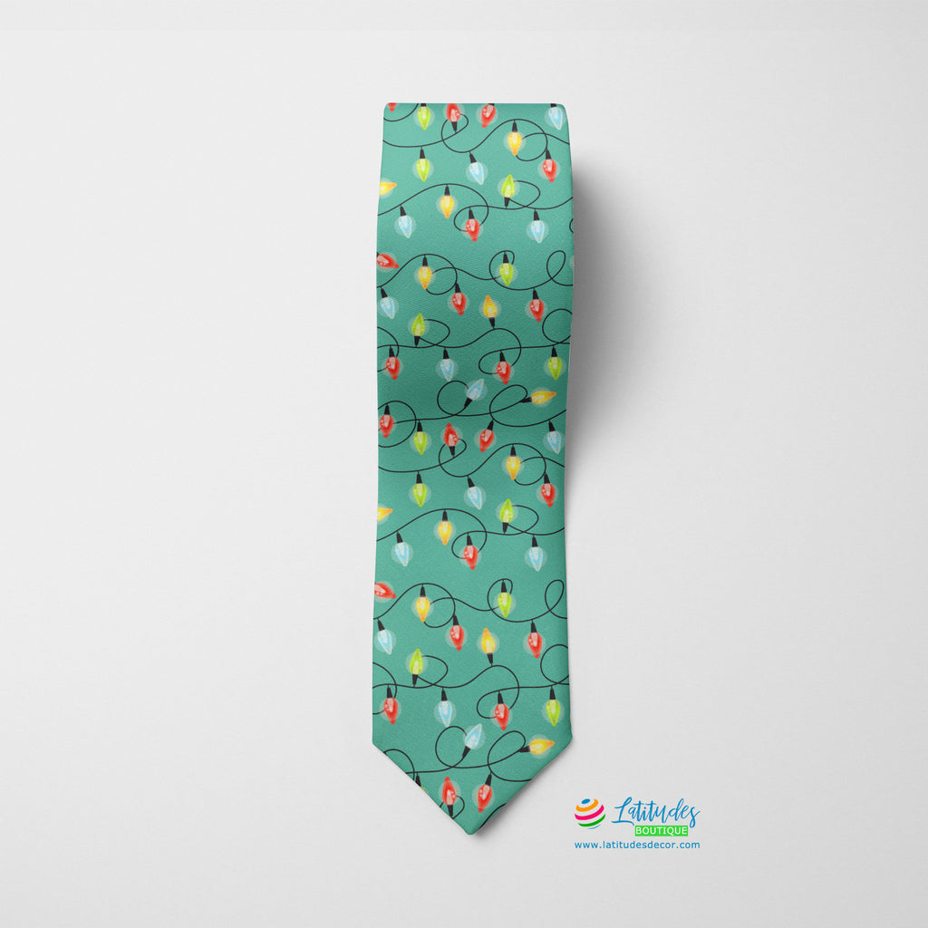Party Lights Printed Tie