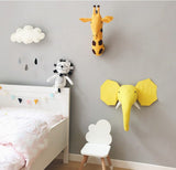 Giraffe Plush Toy & Decorative Mask