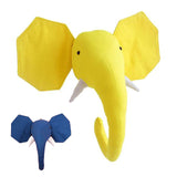 Elephant Plush Toy & Decorative Mask