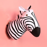 Zebra Plush Toy & Decorative Mask