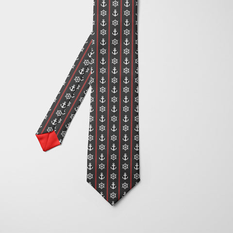 Royal Navy Printed Tie