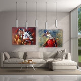 Jazz Combo Original Paintings