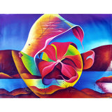 'Surf & Turf' Haitian painting | Latitudes World Décor