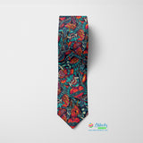 Tattoo Devil Printed Tie