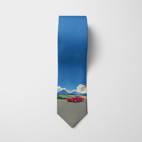 Vintage Beauty Printed Tie