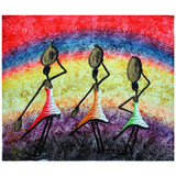 'Water Girls' Haitian painting | Latitudes World Décor